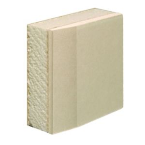 View Gyproc Thermaline Basic Tapered Edge Performance Plasterboard (L)2400mm (W)1200mm (T)22mm details