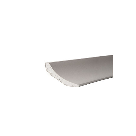 Gyproc contemporary c profile plaster coving l 3 m for Coving corner template