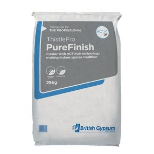 Image of Thistle Pure Finish Quick drying Plaster 25kg