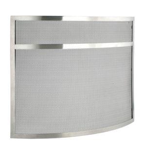 Slemcka Contemporary Metal Fire Screen (H)635mm (W)780mm (D)130mm