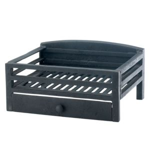 View Slemcka Metal Fire Basket (H)190mm (W)380mm (D)300mm details