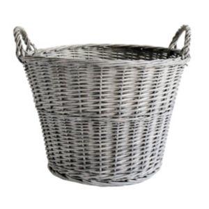 Image of Slemcka Contemporary Log basket (D)450mm