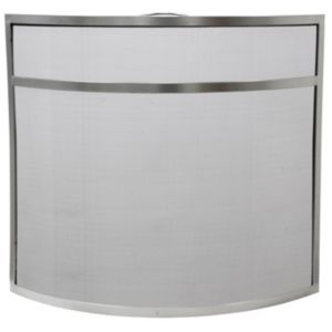 Image of Slemcka Contemporary Metal Fire screen (H)640mm (W)715mm (D)140mm