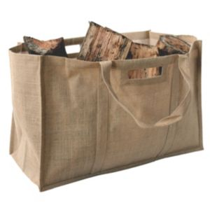 Image of Slemcka Contemporary Jute Bag (H)410mm (D)310mm