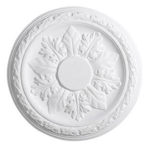 Image of Artex Cavendish White Ceiling Rose (Dia)360mm