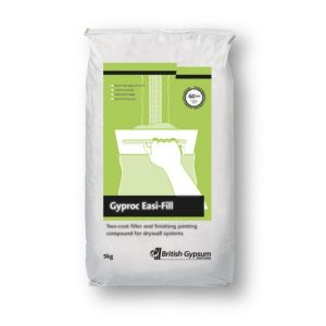 Image of Gyproc Easi-fill Quick dry Two-coat filler & jointing compound 5kg Bag