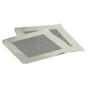 View Gyproc Aluminium Self Adhesive Plasterboard Repair Patches (H)230mm (W)10mm (L)210mm, Pack of 12 details