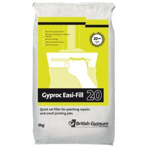 View Gyproc Easi-Fill 20 Quick Set Joint Filler 5kg details