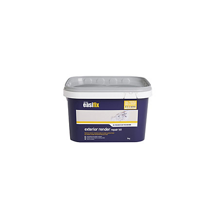 Artex Easifix Exterior Render Repair Kit Resealable Plastic Tub Departments