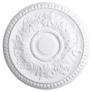 View Artex Richmond White Ceiling Rose (Dia)530mm details