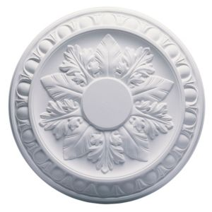 View Artex Richmond White Ceiling Rose (Dia)360mm details