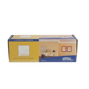 View Artex Easifix C Profile Internal Corners (L)340mm (W)95mm (T)22mm, Pack of 8 details