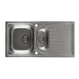View Astracast Alto 1.5 Bowl Stainless Steel Sink & Drainer details
