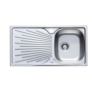 View Astracast Sunrise 1 Bowl Stainless Steel Sink & Drainer details