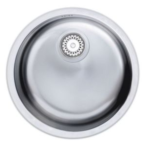 View Astracast Pinta 1 Bowl Stainless Steel Round Sink details