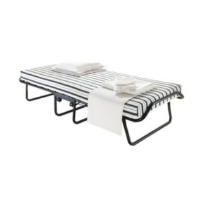View Jay-Be Single Black & White Steel Folding Bed (H)420 mm (W)820 mm (D)1.92 M details