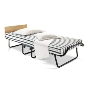 View Jay-Be Single Black & White Steel Folding Bed (H)550 mm (W)820 mm (D)1.92 M details