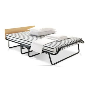 View Jay-Be Double Black & White Steel Folding Bed (H)550 mm (W)1.22 M (D)1.92 M details