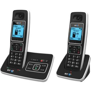 BT 6500 Cordless Digital Telephone with Answering Machine  Twin Handset