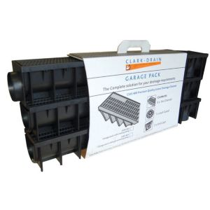 View Clark Polypropylene Channel Drainage Garage Pack details