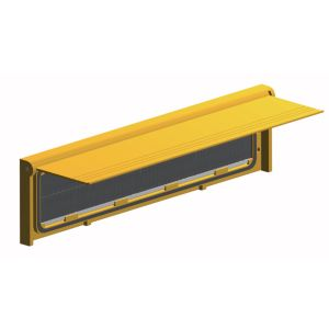 View Stormguard Gold Effect Aluminium & PVC Letterbox Draught Excluder (L)292mm details