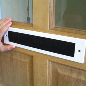 View Stormguard Aluminium & PVC Letterbox Draught Excluder, (L)338mm details