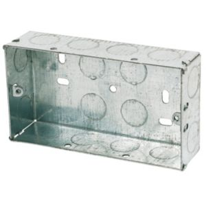 Image of Appleby 35mm Steel Double Knockout box