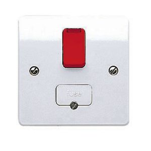 View MK Switched Fused LED Indicator Connection Unit 13A details