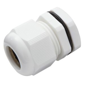 View MK White Compression Gland (Dia)25mm details