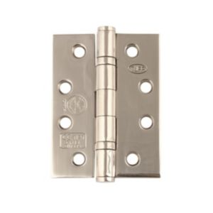 Image of Heavy Duty Polished Stainless Steel Butt Hinge Pack of 3