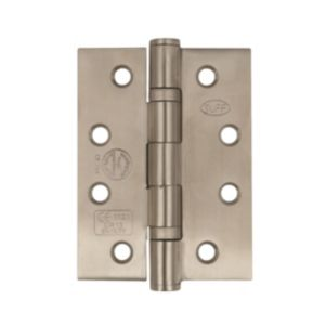 Image of Heavy Duty Satin Effect Stainless Steel Butt Hinge Pack of 3