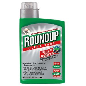 View Roundup Ultra 3000 Concentrate Weed Killer 1L details