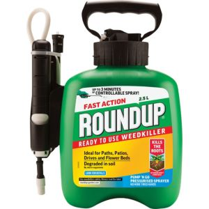 Image of Roundup Fast Action Ready to use Weed killer 2.5L