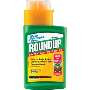Image of Roundup Fast Action Concentrate Weed Killer 280ml 0.38kg