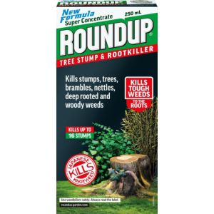 Image of Roundup Concentrate Tree Stump & Root Killer 250ml 0.40kg
