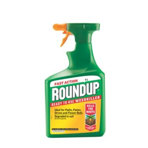 Image of Roundup Fast Action Ready to Use Weed Killer 1L 1.12kg