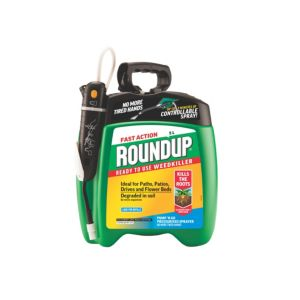 Image of Roundup Fast Action Ready to Use Weed Killer 5L 5.98kg