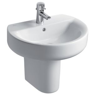 View Ideal Standard Senses Sphere Wall Mounted Basin details