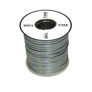 Image of Time 13 Strand Figure 8 Twin Speaker Cable 0.2mm² Grey & Black 100000mm