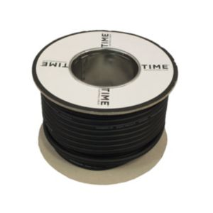 View Tower Black Rubber Cable 240V 6A 3-Core 0.75mm� - 5m details