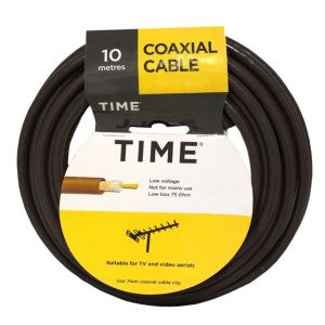 View Tower Brown Coaxial Cable, (L)10m details