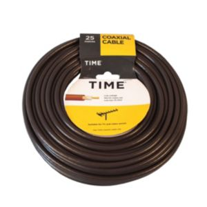 View Tower Brown Coaxial Cable, (L)25m details