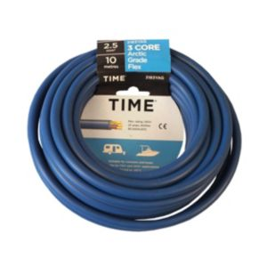 View Tower Blue PVC Artic Cable 240V 25A 3-Core 2.5mm� - 10m details