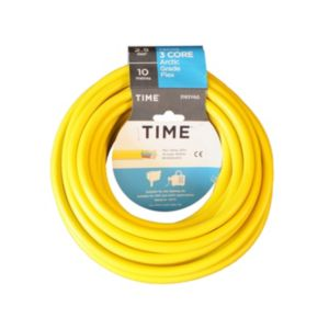 View Tower Yellow PVC Artic Cable 240V 25A 3-Core 2.5mm� - 10m details