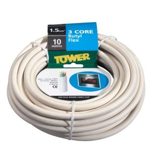 View Tower White Cable 240V 16Ah 3-Core - 10m details