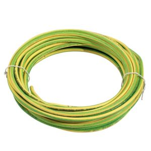 View Tower Green & Yellow Single Core Cable 6mm² (L)10m details