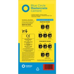 View Blue Circle Mastercrete Cement 25 kg details