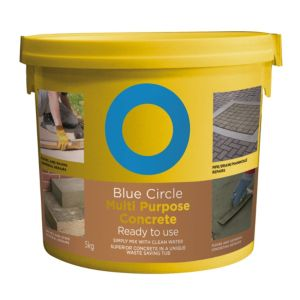 View Blue Circle Ready to Use Premixed Concrete 5kg Resealable Plastic Tub details