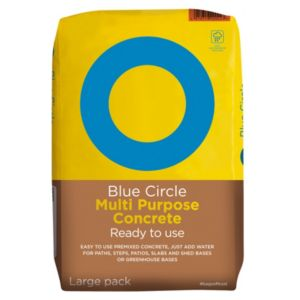 Image of Blue Circle Multipurpose Ready mixed Concrete 20kg Bag