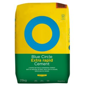 View Blue Circle Extra Rapid Cement 25 kg details